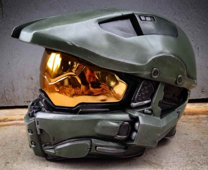 Motorcycle helmets from games