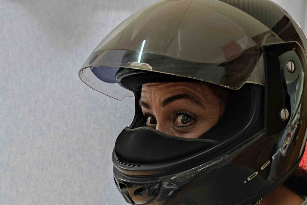 tips for claustrophobic motorcycle riders