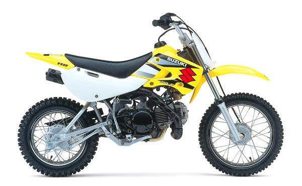Suzuki DRZ110 vs Yamaha TTR125