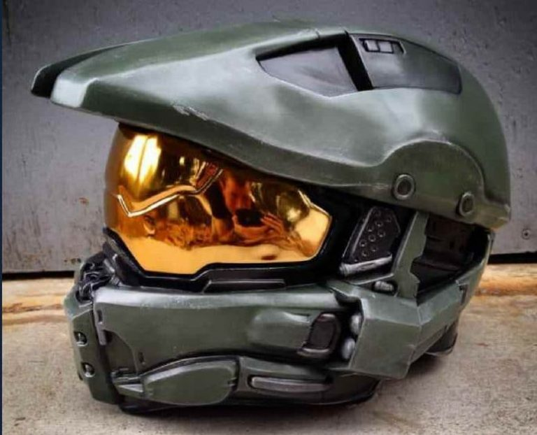 The Street Legal Halo Master Chief Motorcycle Helmet Review
