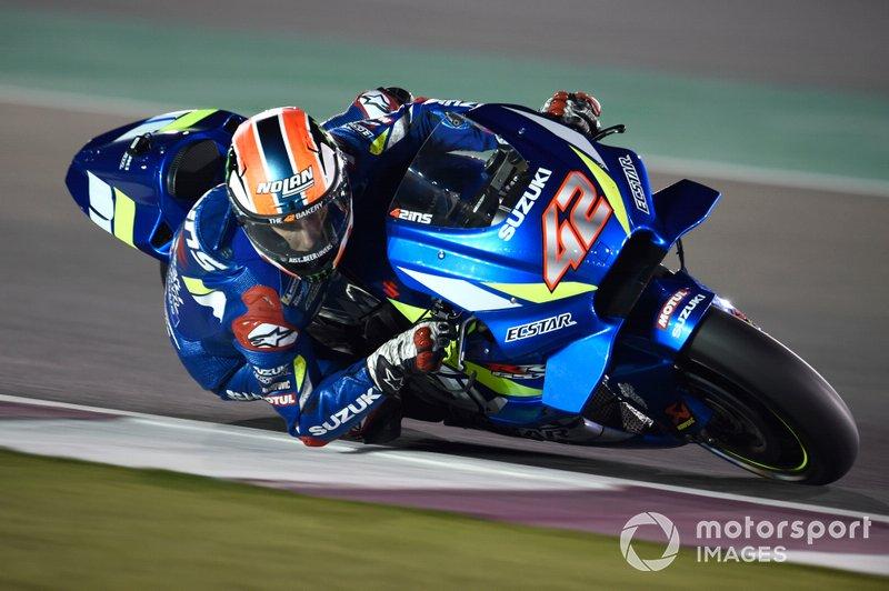 Alex Rins MotoGP 2019 testing