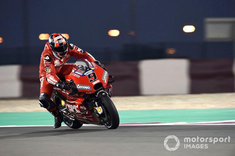 petrucci moto gp 2019 test qatar