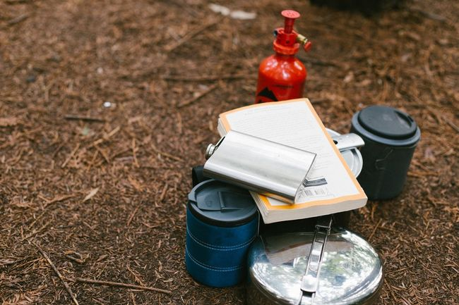 motorcycle camping gear