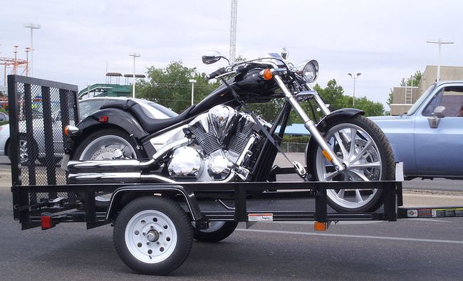 trinity 3 rail motorcycle trailer mt3