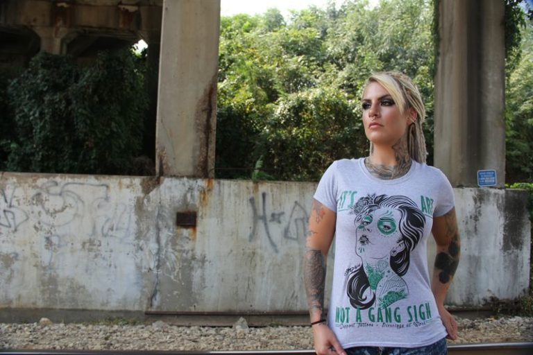 Ladies Stay Stylish  With These Cool Women's Biker Shirts
